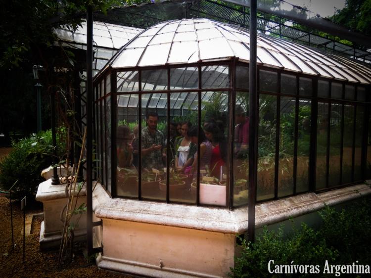 Capacitación en el Jardín Botánico Carlos Thays, Ciudad de Buenos Aires.